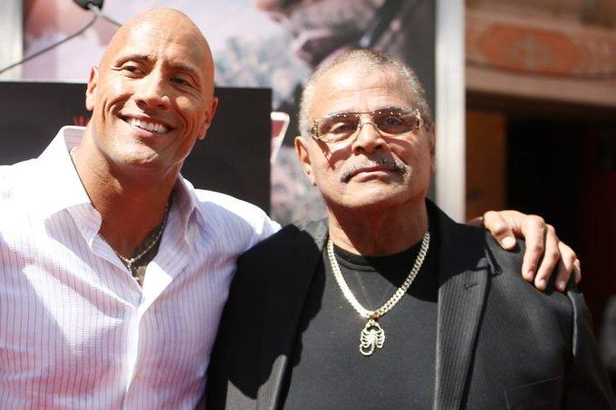 Rocky Johnson, Dwayne the rock Johnson