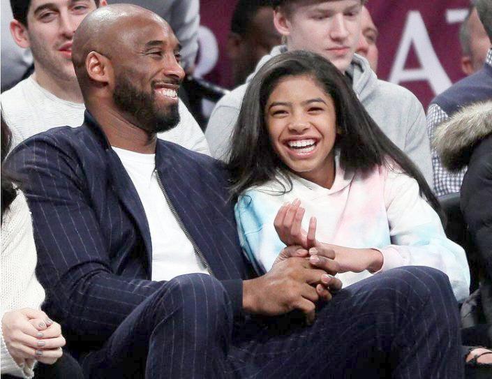 Kobe & GiGi Bryant (Getty)