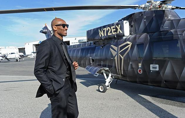 Kobe & Sikorsky Helicopter (Getty)