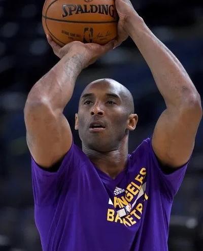 Kobe at practice