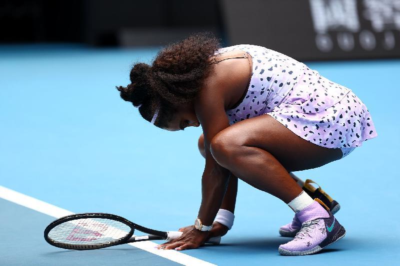 Serena Williams - australian open loss reaction - getty