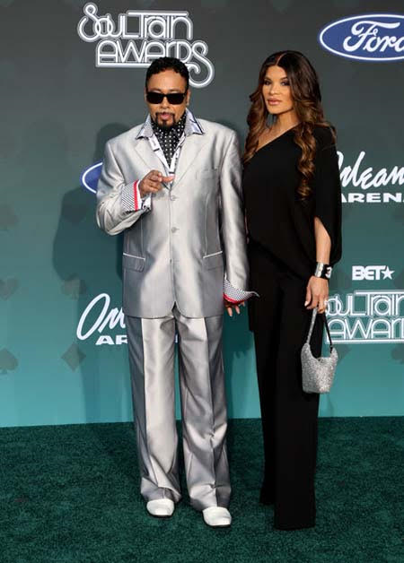 Morris Day and Lorena Day