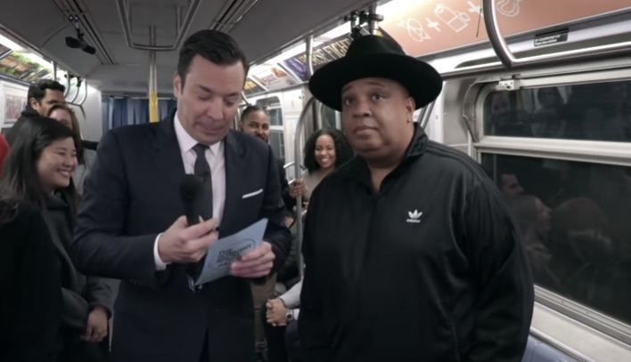 Rev Run and Jimmy Fallon