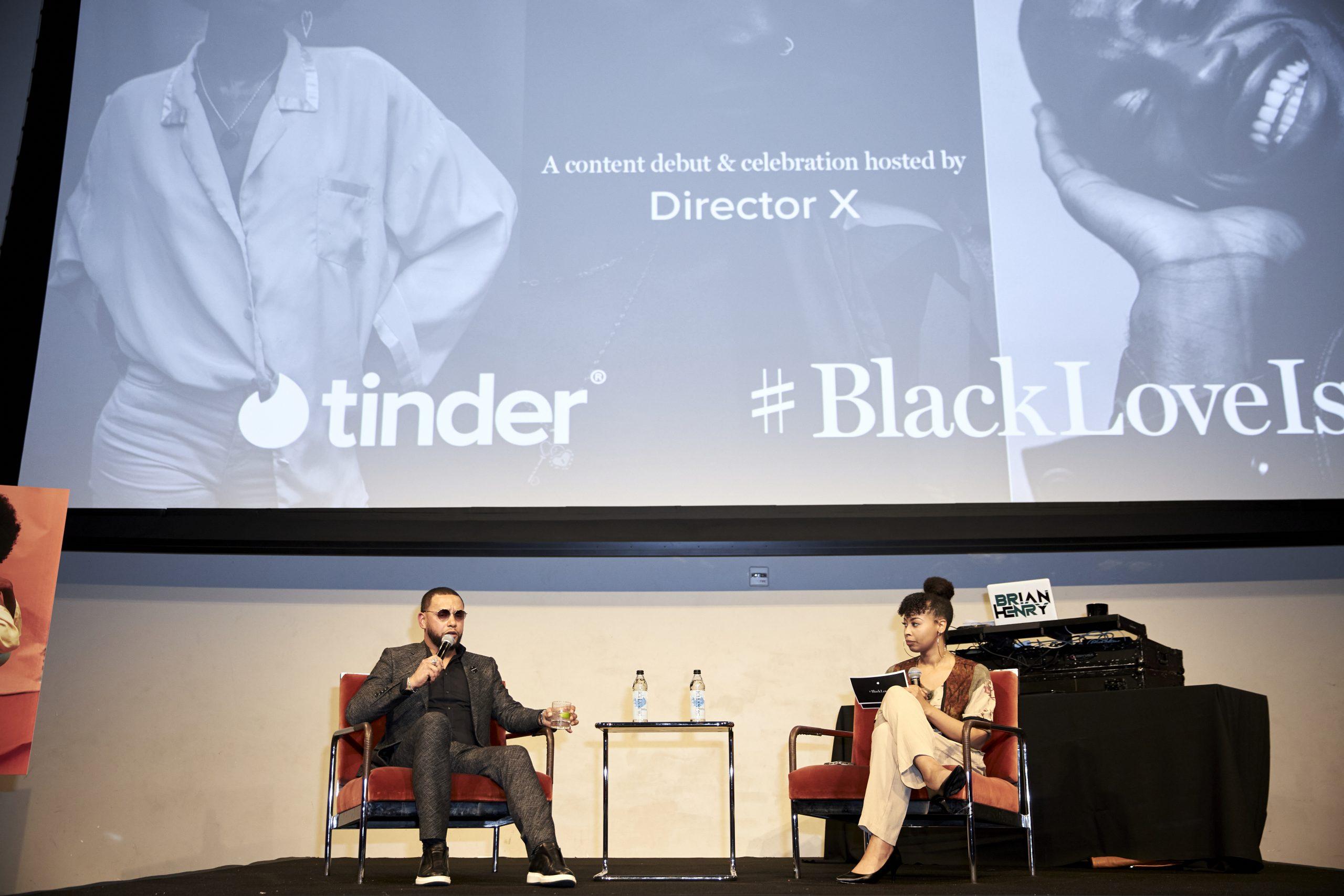 blackloveis, director x, tinder