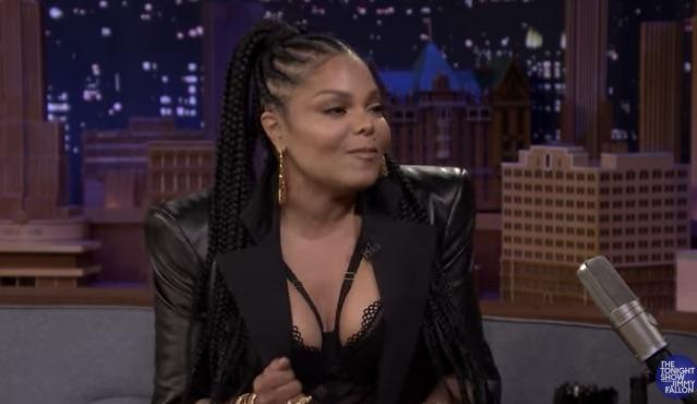 Janet Jackson on The Tonight Show