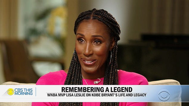 Lisa Leslie talks kobe bryant
