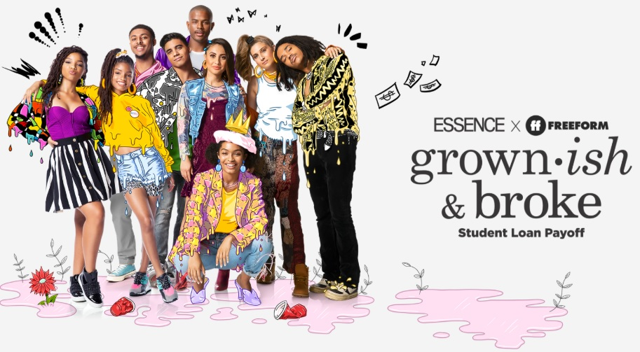 ESSENCE, Freeform, grown-ish & Broke
