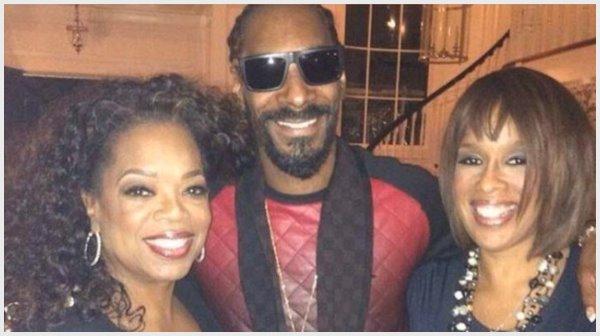 oprah, snoop dogg, gayle king
