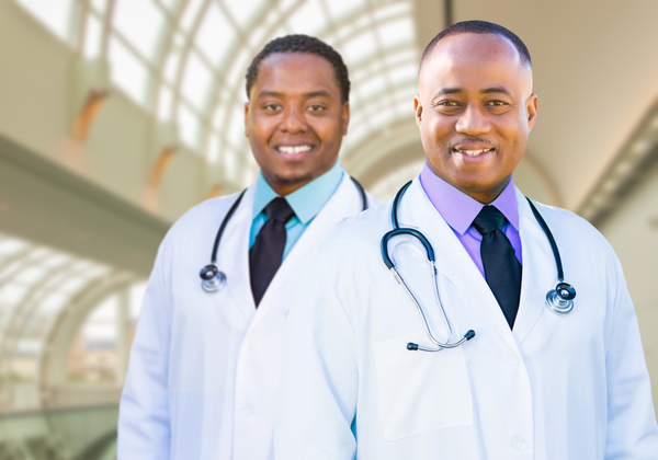 2 african american (black) doctors - yay images