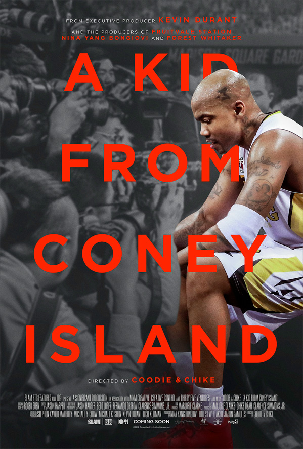 A kid from Coney Island promo-poster