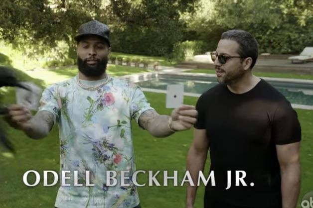 Odell Beckham Jr. and David Blaine