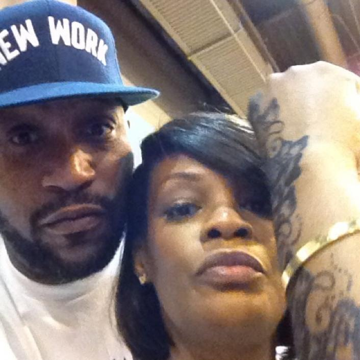 Bun B and his wife Queen