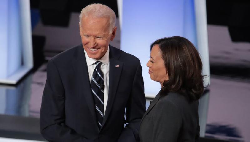 Joe Biden & Kamala Harris (getty)