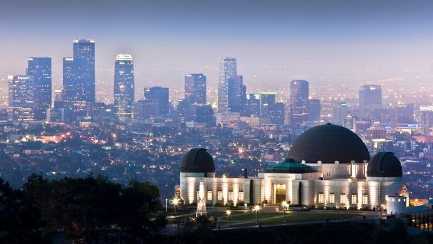 LA skyline (Getty)