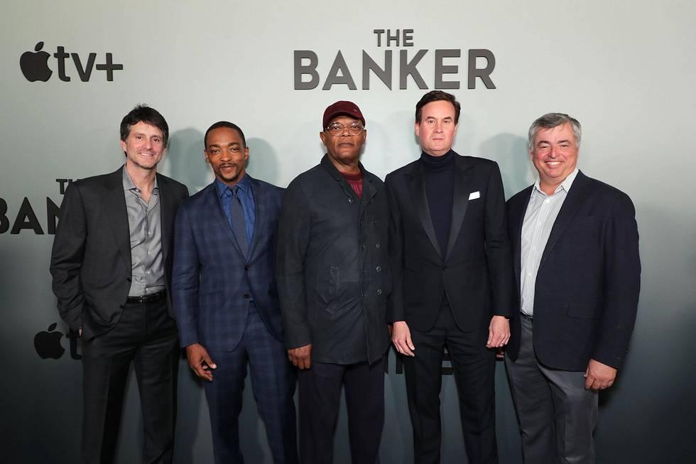 TheBanker_Premiere_Memphis - AM & SJ & suits worldwide video
