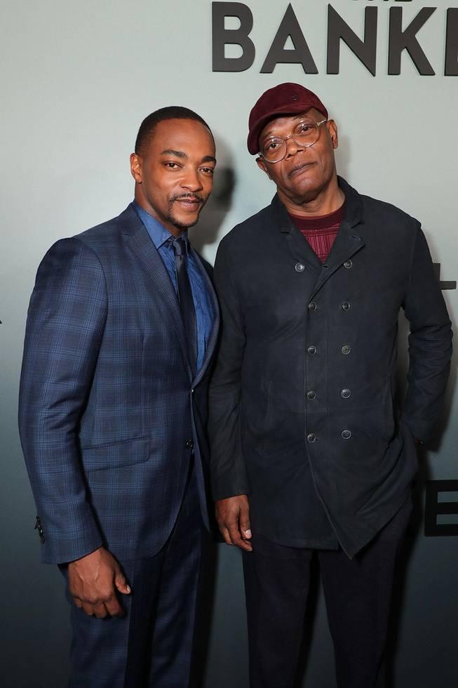 TheBanker_Premiere_Memphis - Anthony Mackie & Sam Jackson