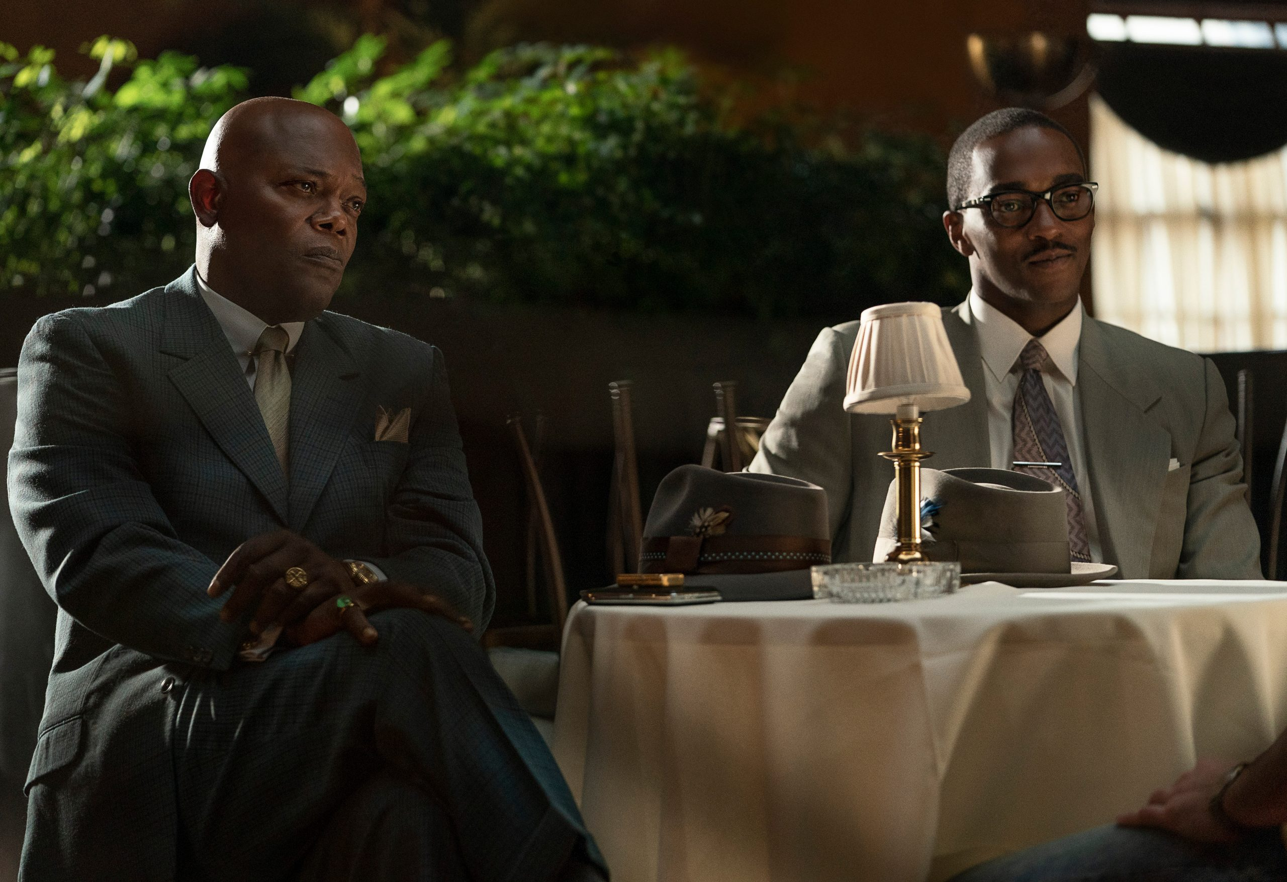 Samuel L. Jackson, Anthony Mackie, the banker