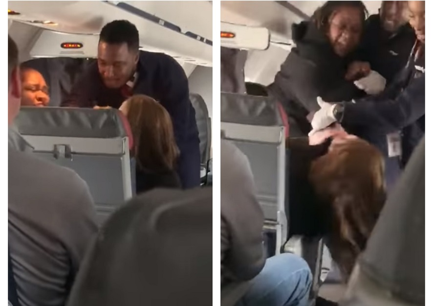 American Airlines passenger who called black crew member the N-word nearly beatdown