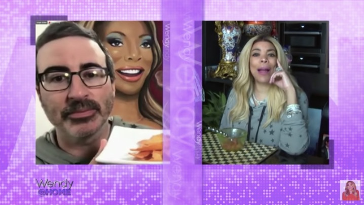John Oliver on The Wendy Williams Show