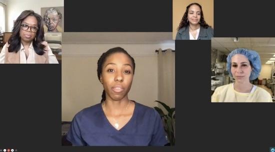 Oprah interviews NYC nurses