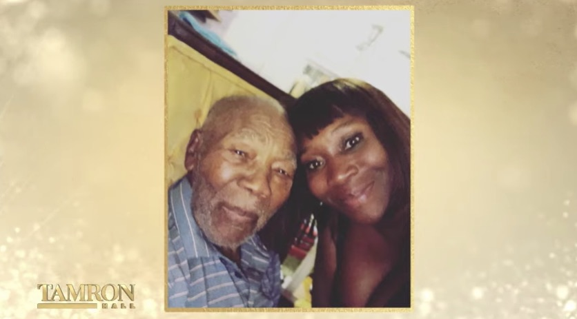 Bevy Smith and her grandfather