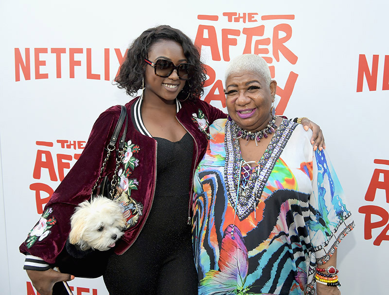 Luenell and daughter Da'Nelle Campbell