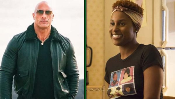 "Dwayne ""The Rock"" Johnson and Issa Rae"