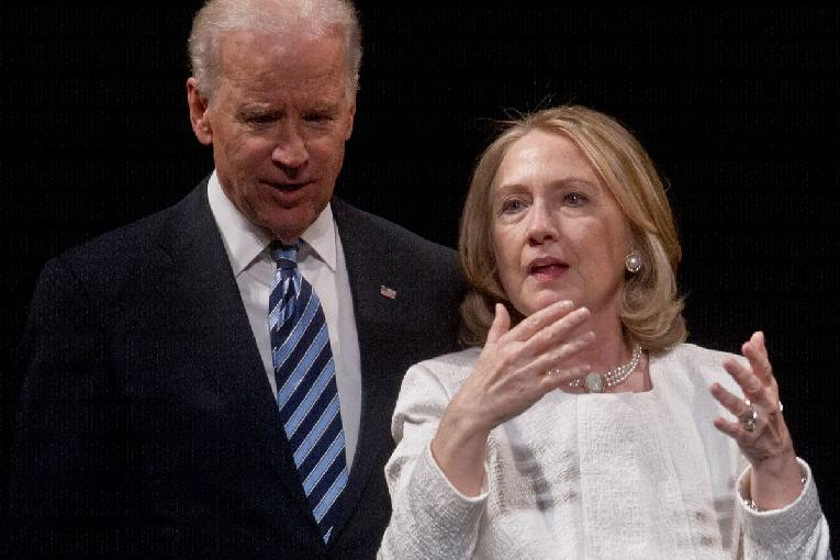 Joe Biden & Hillary Clinton - GettyImages