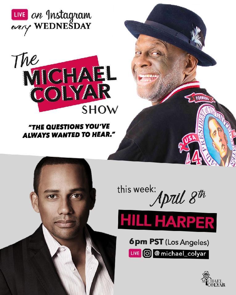 Michael Colyar & Hill Harper