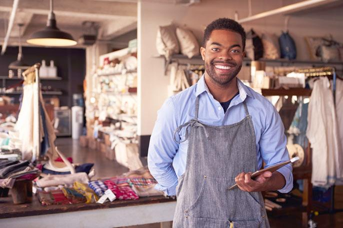 african american shop owner - University of California at Riverside-black-business