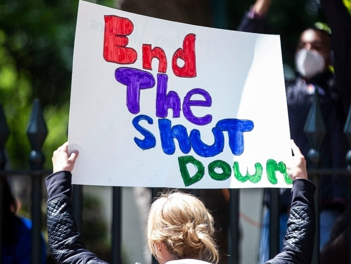 end the shutdown - gettyimages
