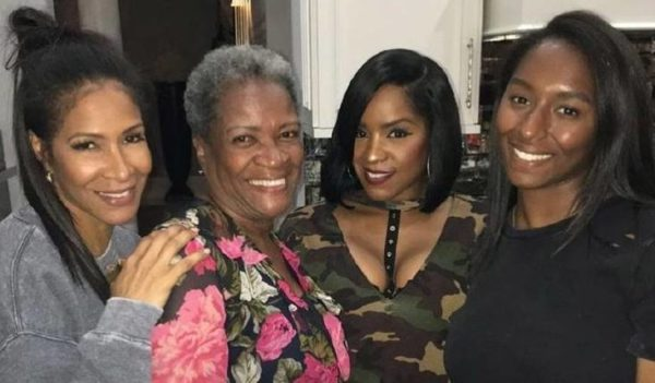 Sheree Whitfield and mother, Thelma