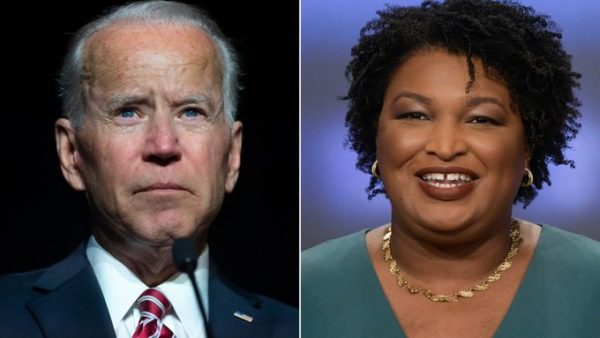 Joe Biden, Stacey Abrams