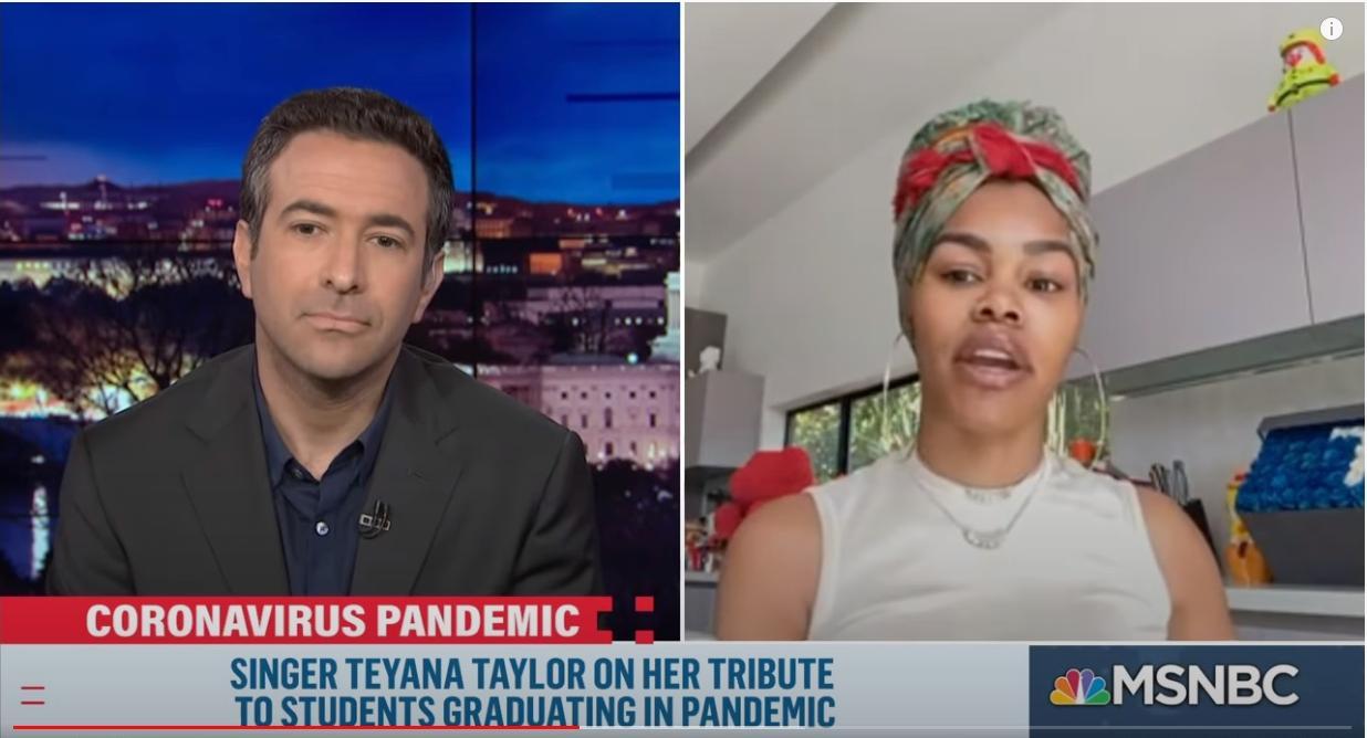 Ari Melber - Teyana Taylor