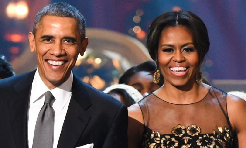 Barack & Michelle Obama - gettyimages