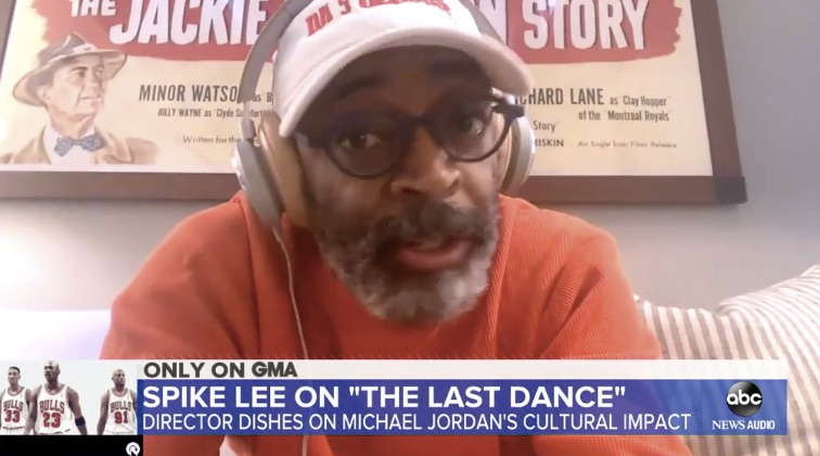 Spike Lee on GMA