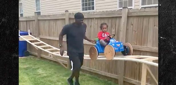 Rollercoaster man grandson (screenshot)