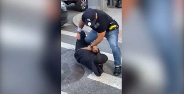Video Of NYPD Beating Black Man for not social distancing