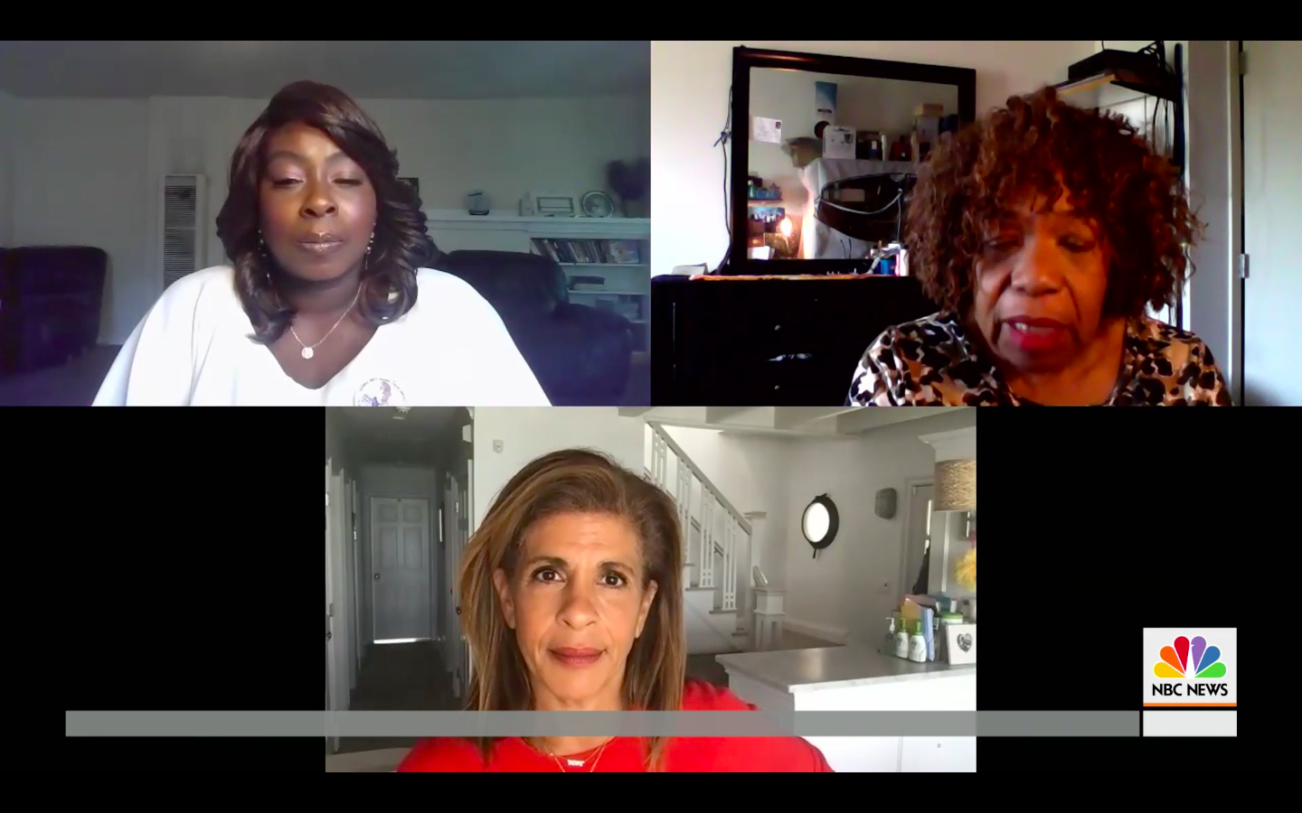 """Se'Quette Clark and Gwen Carr speak to Hoda Kotb on """"Today"""" (06-02-20)"""