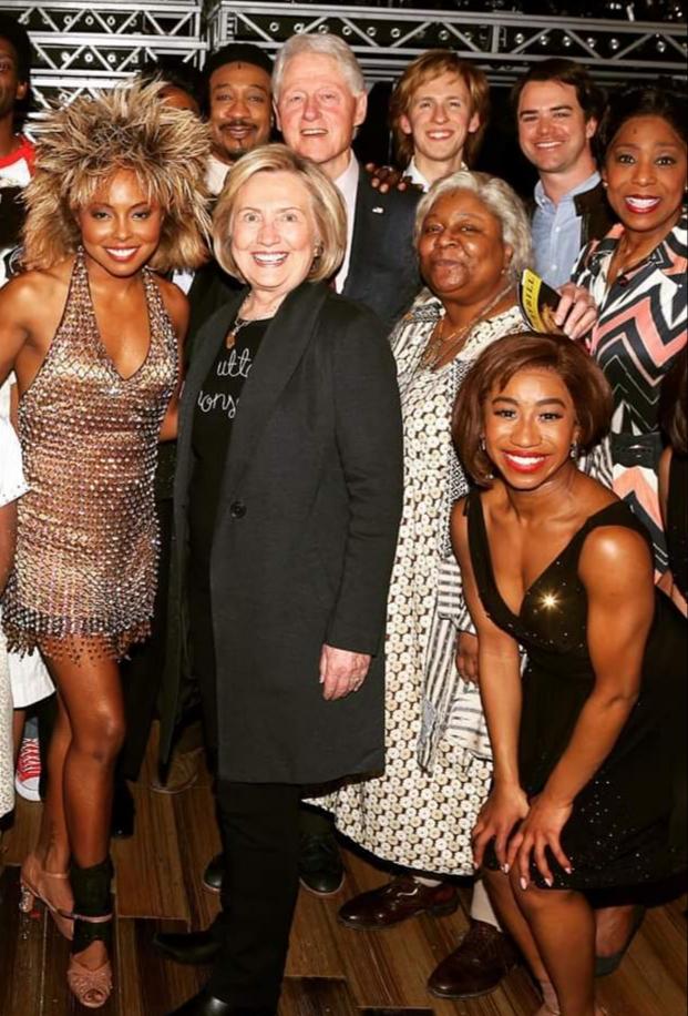 Bill & Hillary & Tina cast