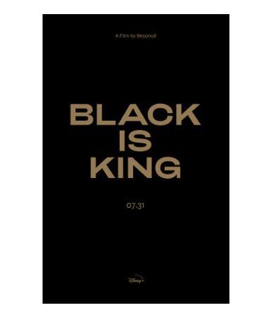 Black is King (black logo)