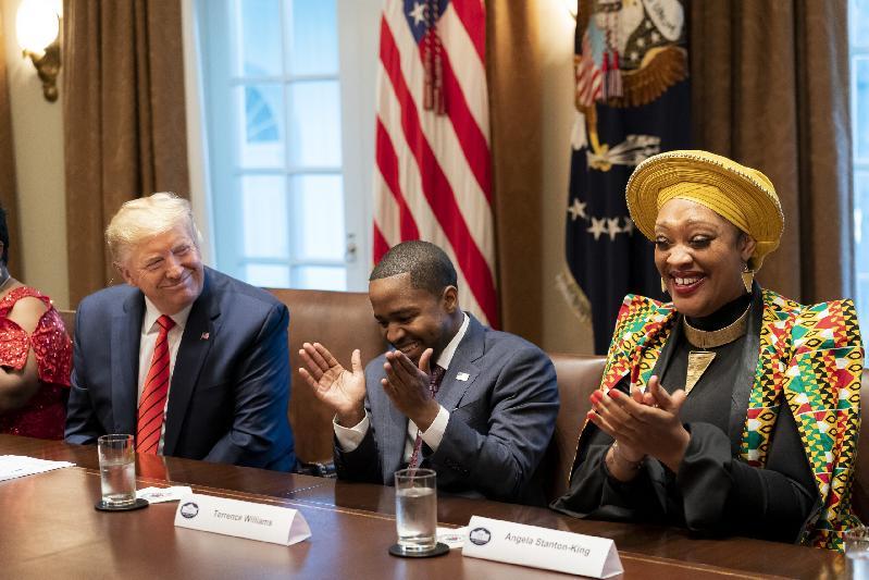 Donald Trump Terrence Williams Angela Stanton King