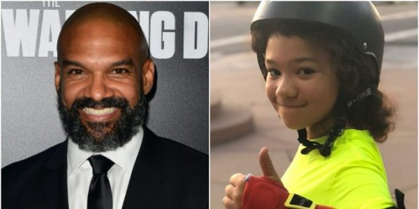 Khary Payton and trans child