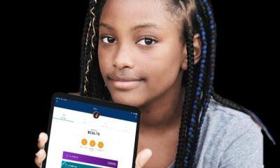Girl with Goalsetter app1