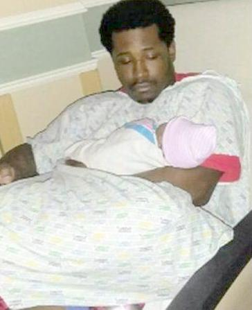 Rayshard Brooks & baby