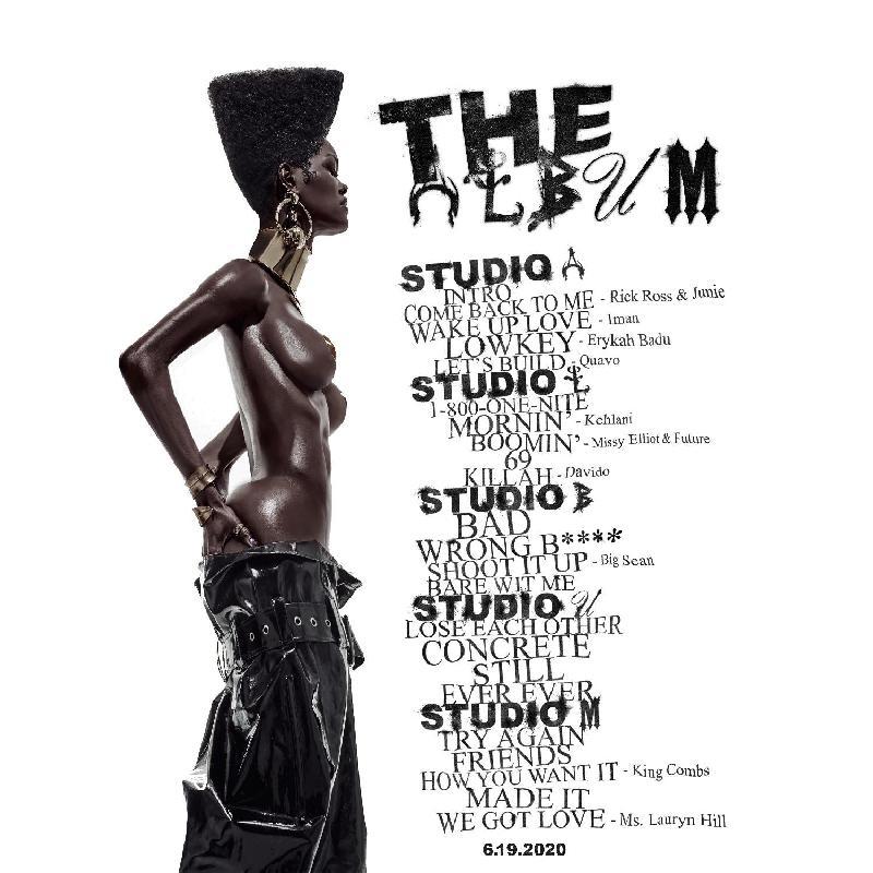 Teyana Taylor - the album studio a