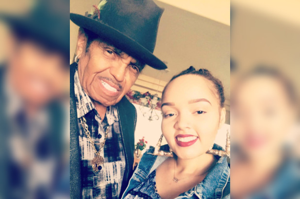 Joe Jackson's granddaughter Yasmine