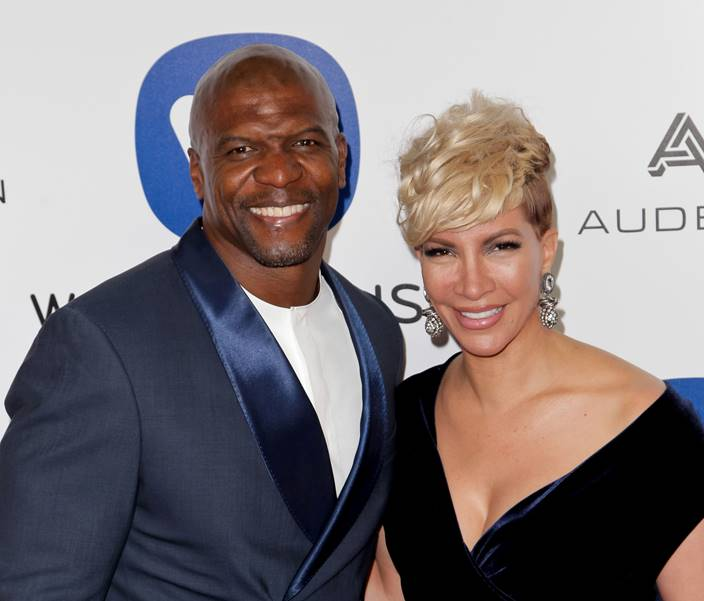 terry crews and his wife