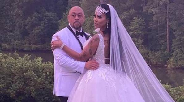 Deelishis, 41, has reportedly tied the knot with Raymond Santana, 45, of the Central Park Five.