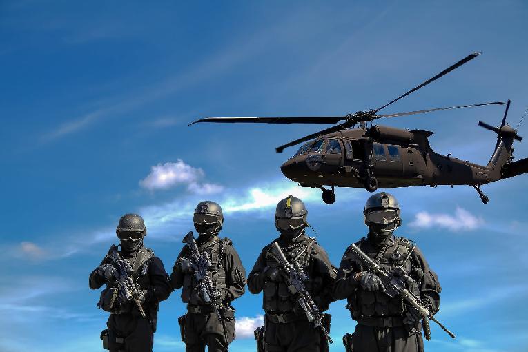 militarized police - pexels-photo